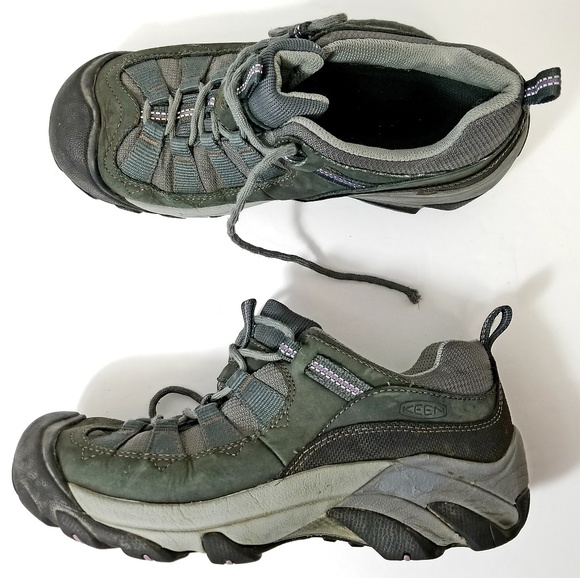 f4ffd78914d Keen Olive Green/Black Hiking Shoes Women Size 8